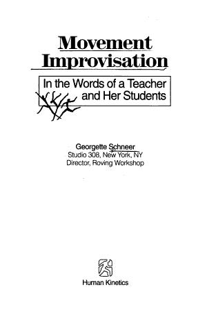 Movement Improvisation