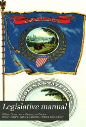 Legislative and State Manual of Indiana