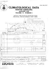 Climatological data: South Carolina, Volume 91, Issue 2