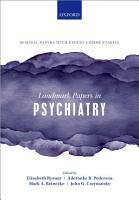 Landmark Papers in Psychiatry PDF