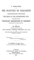 A Treatise on the Statutes of Elizabeth Against Fraudulent Conveyances PDF
