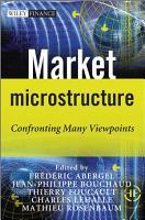 Market Microstructure PDF