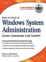 How to Cheat at Windows System Administration Using Command Line Scripts PDF