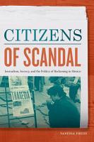 Citizens of Scandal PDF