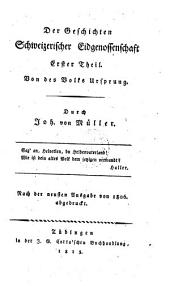 Johannes von Müller sämmtliche Werke: Band 16