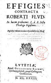 Effigies contracta Roberti Flud, in lucem producente I. à S. Iusto theologo Segusiano
