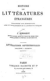 Histoire des littératures étrangères: considérees dans leurs rapports avec le développement de la littérature française. Litteratures meridionales : Italie-Espagne, Volume2