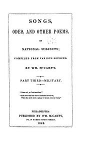 Songs, Odes, & Other Poems, on National Subjects: Comp. from Various Sources, Volume 3