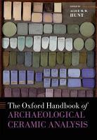The Oxford Handbook of Archaeological Ceramic Analysis PDF