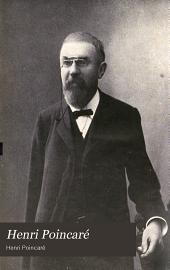 Henri Poincaré: Dernières Pensées