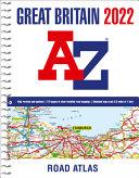Great Britain A-Z Road Atlas 2022 (A4 Spiral)