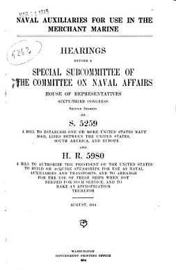Naval Auxiliaries for Use in the Merchant Marine