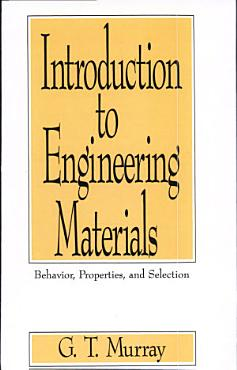 Introduction to Engineering Materials PDF