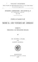 Index-catalogue of Medical and Veterinary Zoology ...