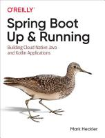 Spring Boot  Up and Running PDF