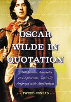 Oscar Wilde in Quotation PDF