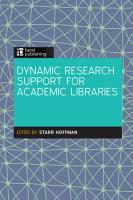 Dynamic Research Support in Academic Libraries PDF