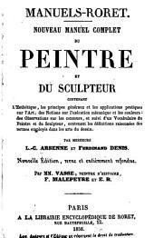 Nouveau manuel complet du peintre et du sculpteur ...