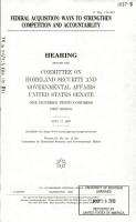Federal Acquisition PDF