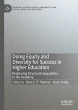 Doing Equity and Diversity for Success in Higher Education PDF