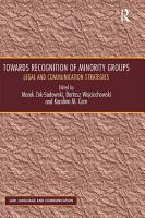 Towards Recognition of Minority Groups PDF
