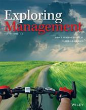 Exploring Management: Edition 6