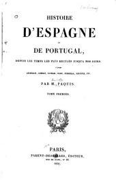 Histoire d'Espagne et de Portugal: depuis les temps les plus reculés jusqu'à nos jours, d'après Aschbach [et autres]