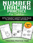 Number Tracing Practice For Toddler