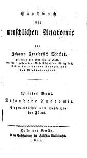 Handbuch der menschlichen Anatomie: 4