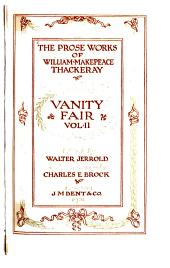 Vanity fair: a novel without a hero, Volume 2