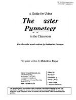 A Guide for Using the Master Puppeteer in the Classroom PDF