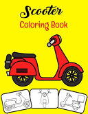 Scooter Coloring Book