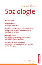 Soziologie Jg  48  2019  3 PDF