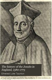 The History of the Jesuits in England, 1580-1773