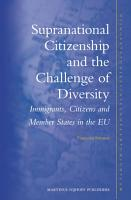 Supranational Citizenship and the Challenge of Diversity PDF