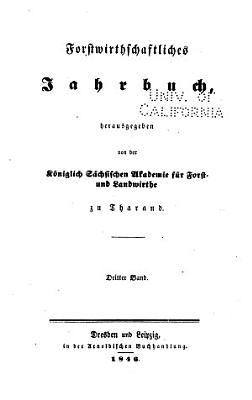 Forstwirthschaftliches Jahrbuch PDF