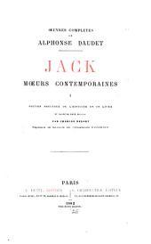 Jack, moeurs contemporaines, I