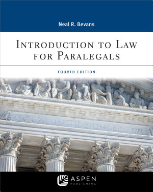 Introduction to Law for Paralegals PDF