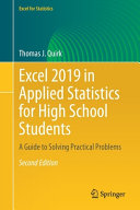 Excel 2019 in Applied Statistics for High School Students PDF