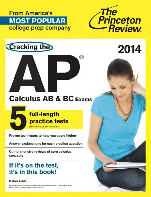 Princeton Review Cracking the AP Calculus AB   BC Exams