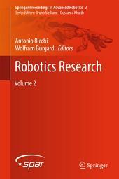 Robotics Research: Volume 2