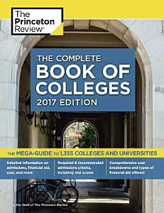Complete Book of Colleges Book