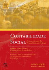 Contabilidade Social: Referencia atualizada das contas nacionais do Brasil, Edição 4
