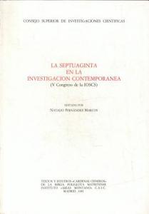 La Septuaginta en la Investigaci  n Contempor  nea PDF