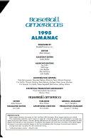 Baseball America's 1995 Almanac