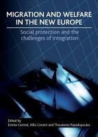 Migration and Welfare in the New Europe PDF