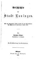 Geschichte der Stadt Lauingen PDF