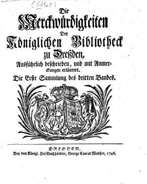 Merkw  rdigkeiten der Churf  rstlichen Bibliothek zu Dresden PDF