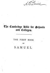 The First Book of Samuel: With Map, Notes and Introduction