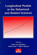 Longitudinal Models in the Behavioral and Related Sciences PDF